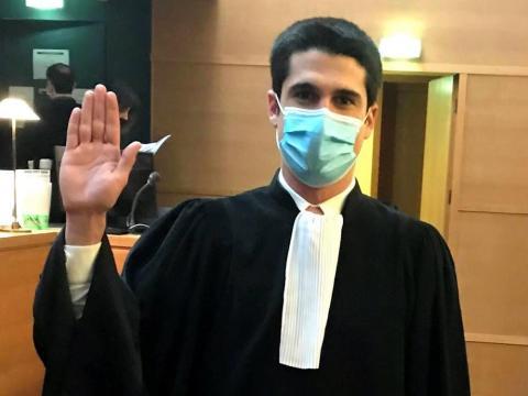 Prestation de serment d'Alexandre REYNAUDau Palais de Justice de Lyon